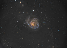 Messier 101 Or Pinwheel Galaxy In The Constellation Ursa Major.