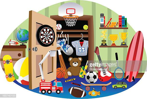 30 Top Messy Room Stock Illustrations, Clip art, Cartoons.