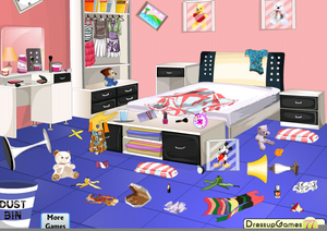 Clipart Messy Bedrooms.
