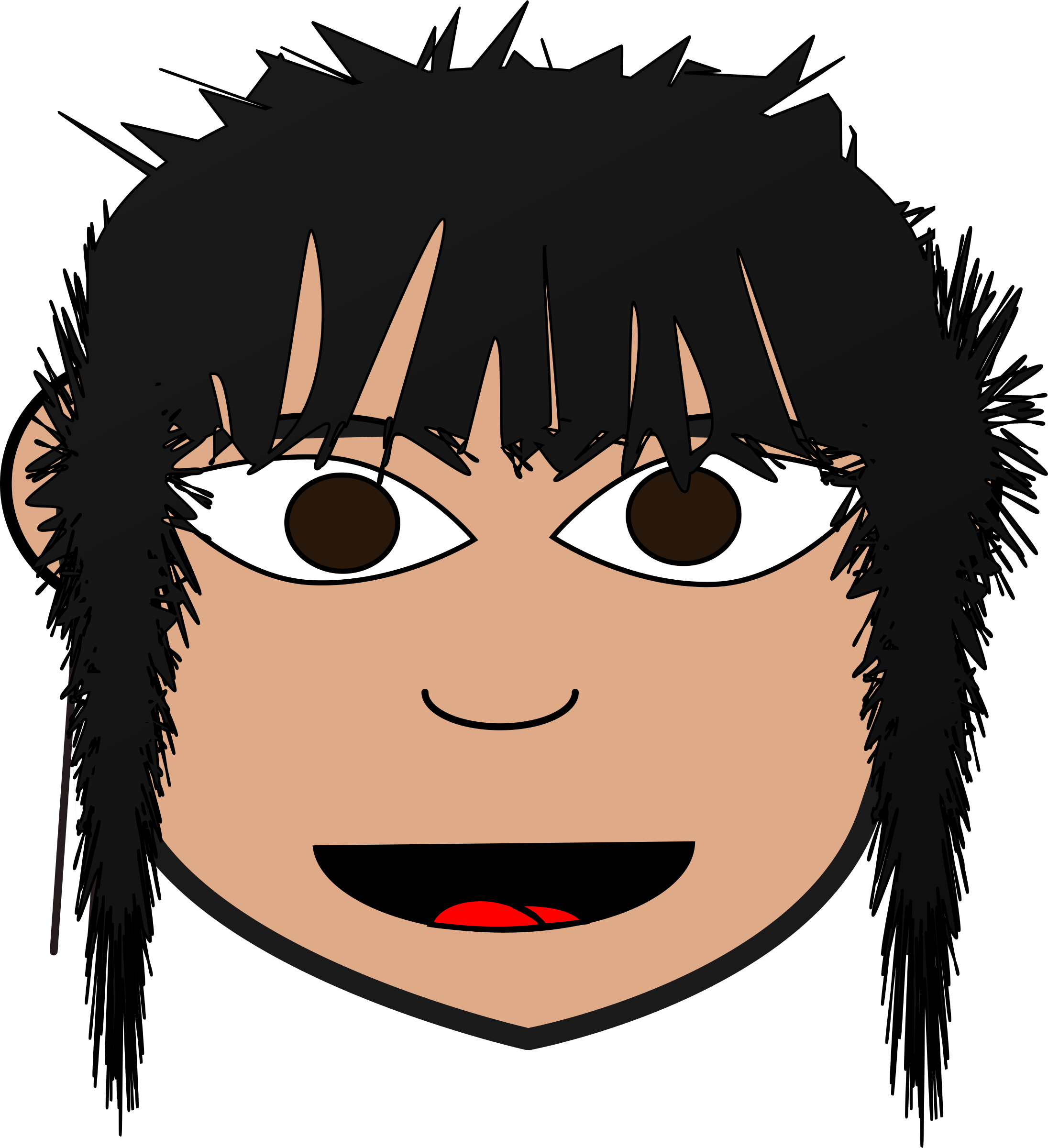 Hair clipart messy, Hair messy Transparent FREE for download.