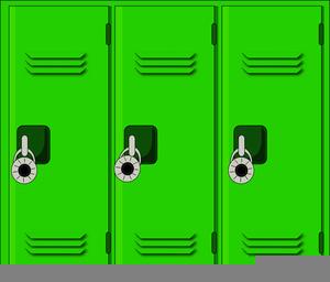 Messy Locker Clipart.