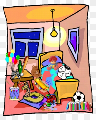 Free PNG Messy Room Clip Art Download.
