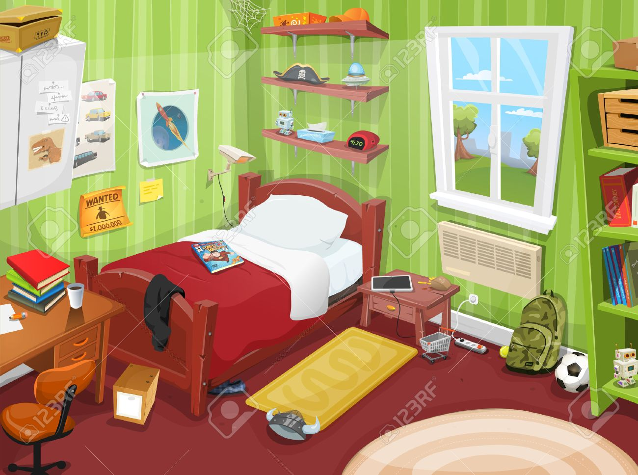 1,456 Messy Room Stock Vector Illustration And Royalty Free.