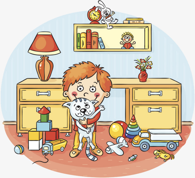 Toy Mess Clipart.