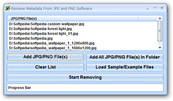 Download Remove Metadata From JPG and PNG Software 7.0.
