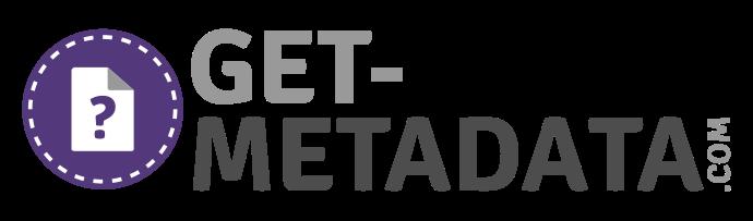 Check files for metadata info.