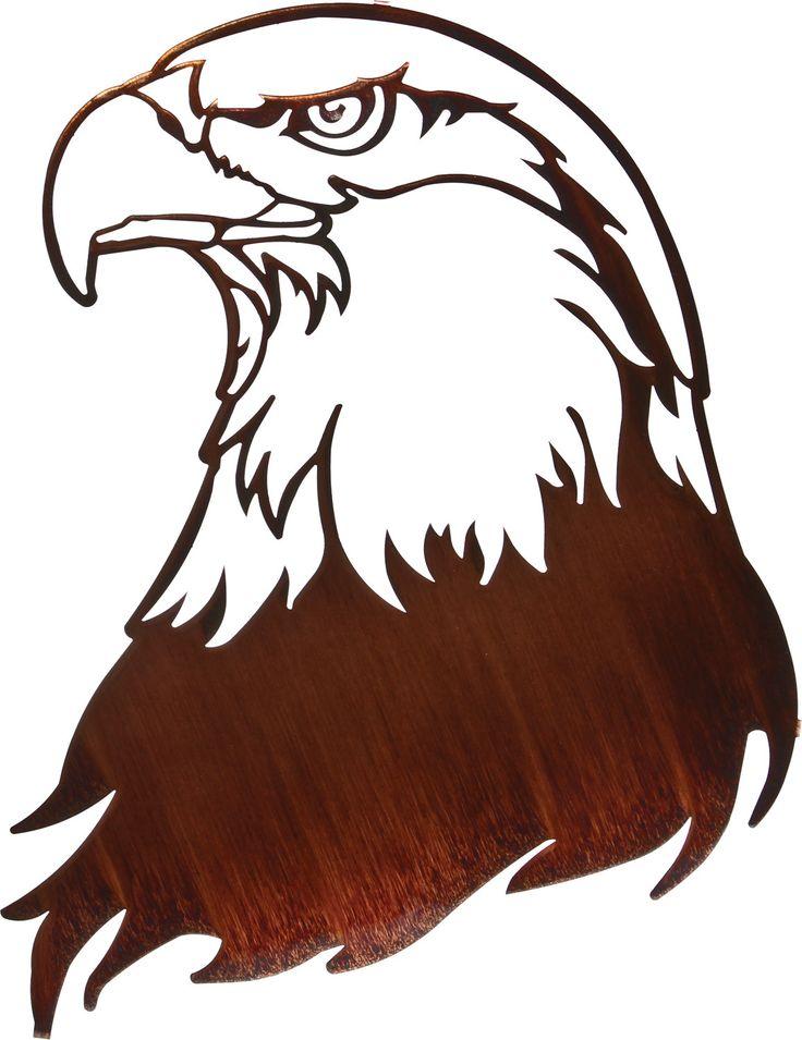 Bald Eagle Metal Wall Art.
