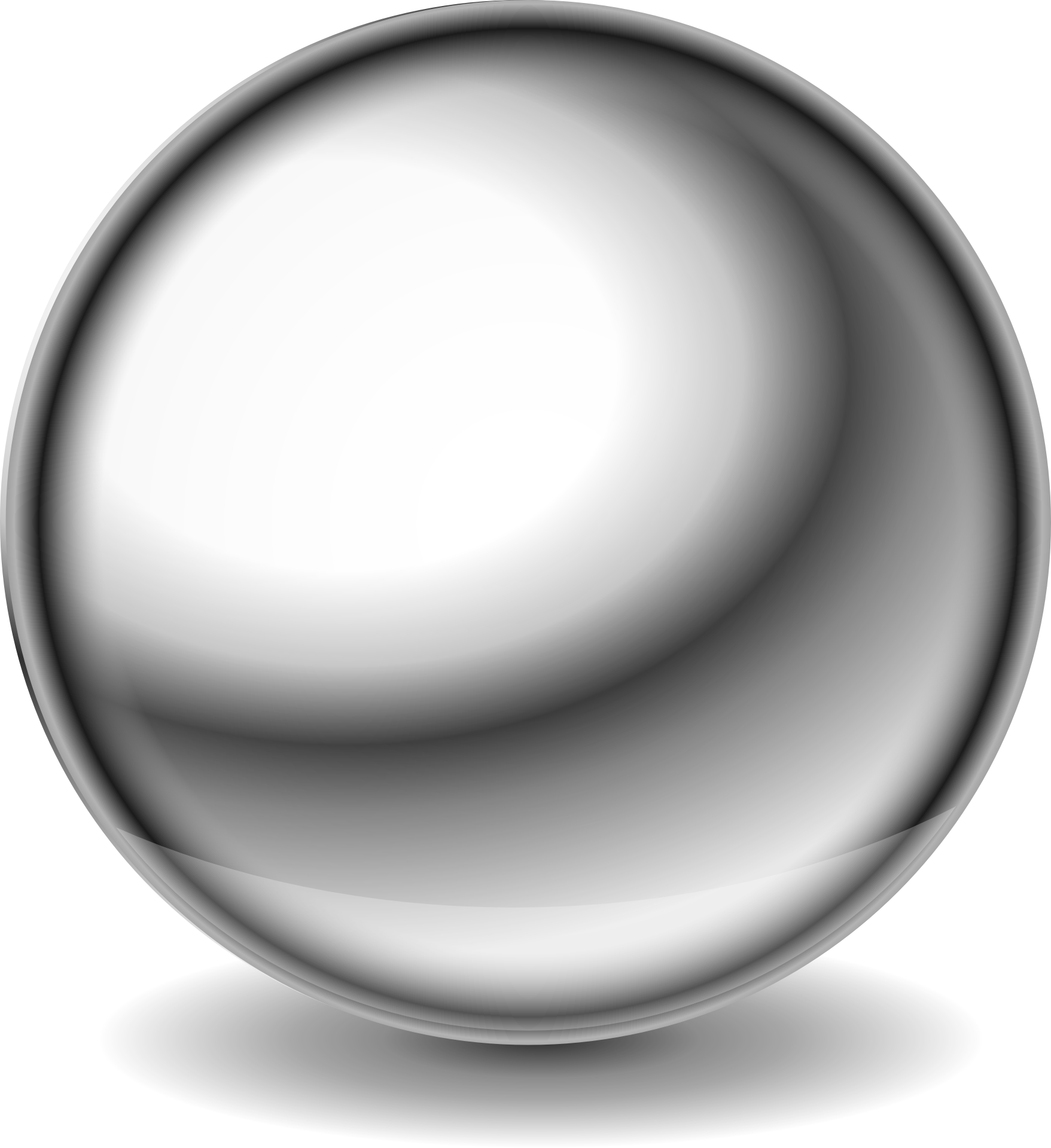 Shiny ball clipart.