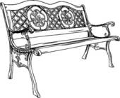 Park bench Clipart Royalty Free. 1,971 park bench clip art vector.