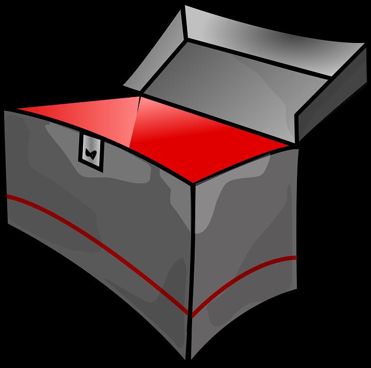 Free vector graphic: Box, Empty, Toolbox, Metal.