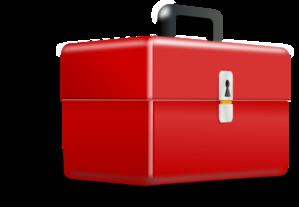 Red Metal Tool Box Clip Art at Clker.com.