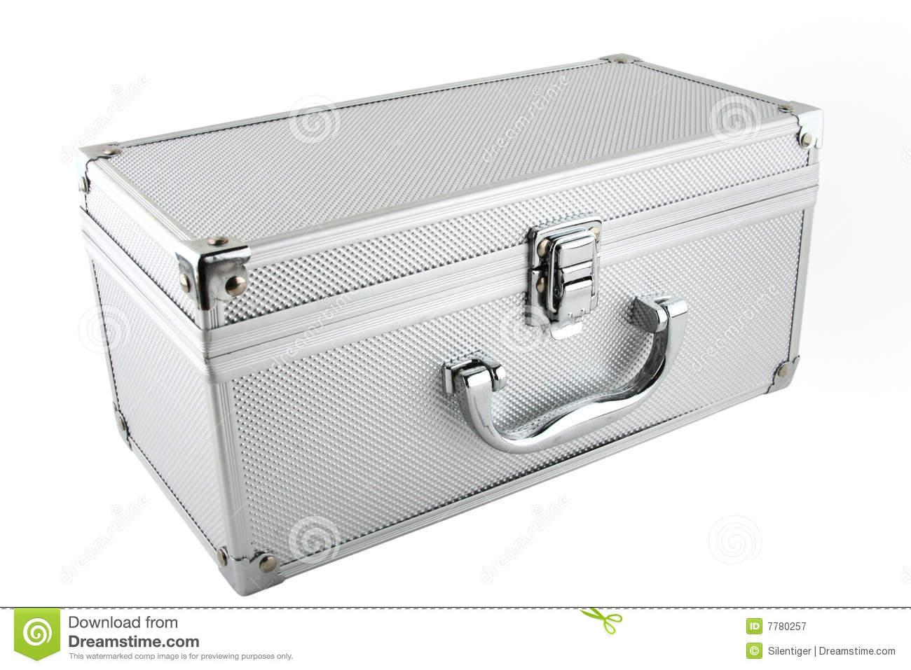 Metal Box Royalty Free Stock Photography.