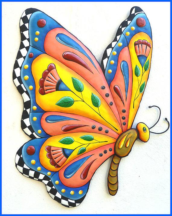 Butterfly Metal Wall Art.