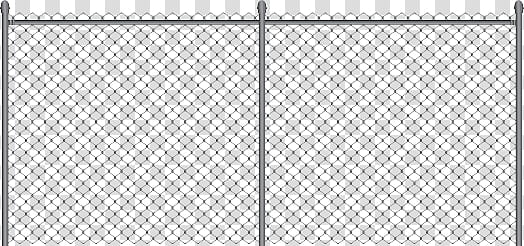 Fences Ornament, gray metal fence transparent background PNG.