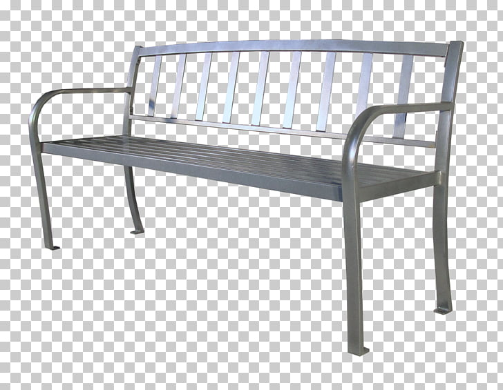 Bench Park Metal Chair, park bench PNG clipart.