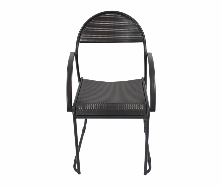 Perforated Metal Chair Chair.