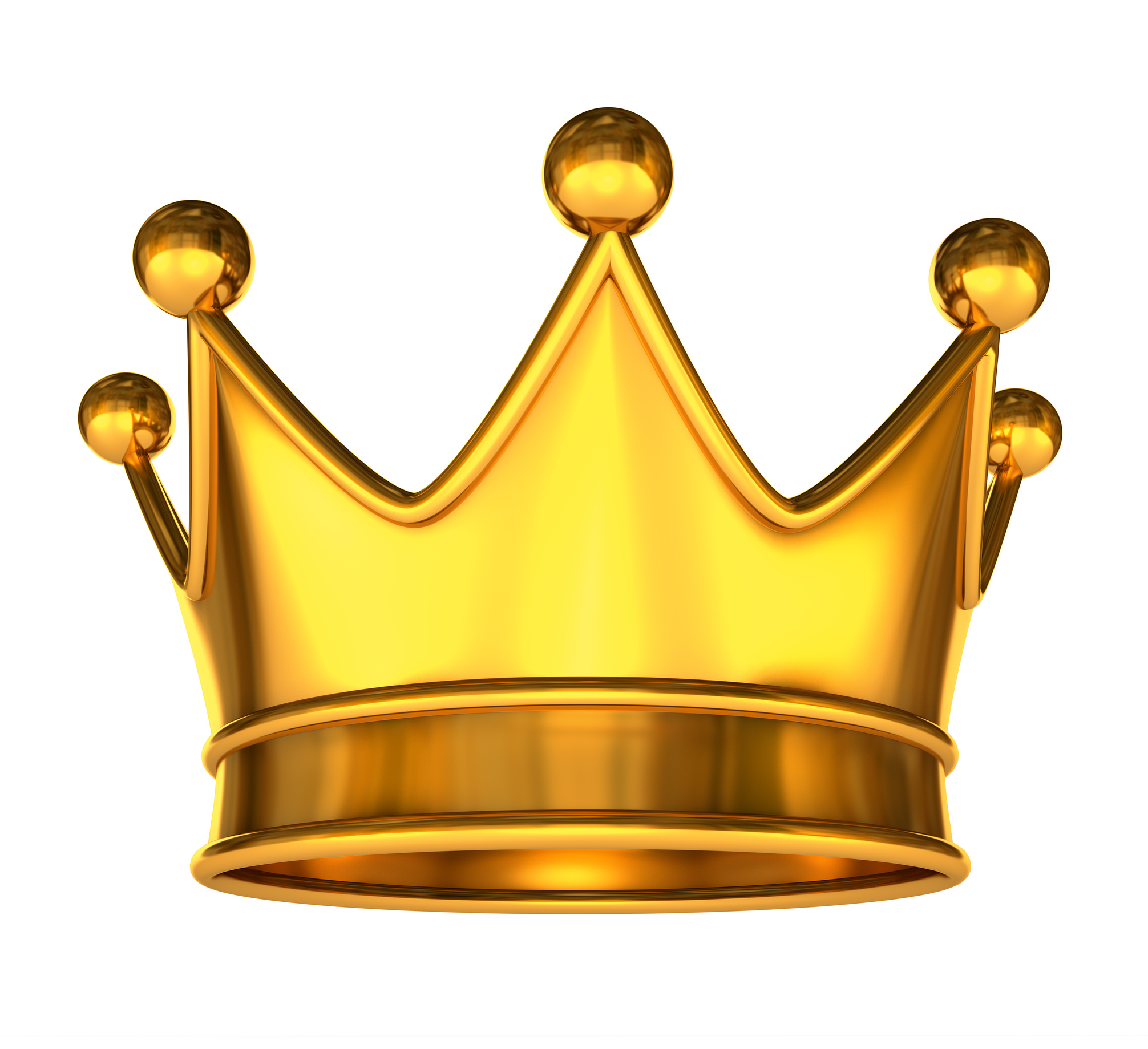 Gold Crown King Clipart on King And Queen Clip Art