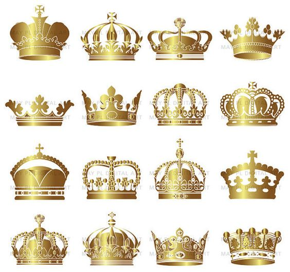 king crown template