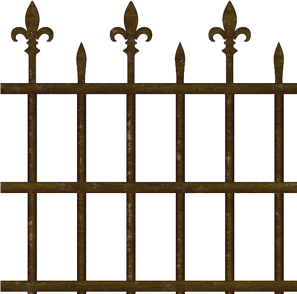 Old Fence Png.