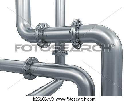 Stock Illustration of Pipe fitting k26506759.