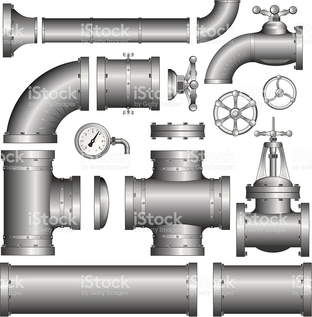 Pipeline Pipe Vector Clipart stock vector art 104653567.