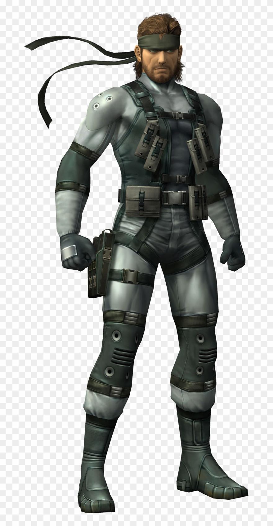 Snake Metal Gear Png.