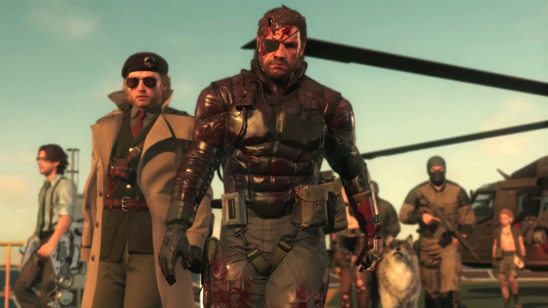 Metal Gear Solid 5 Clipart 1920x1080.