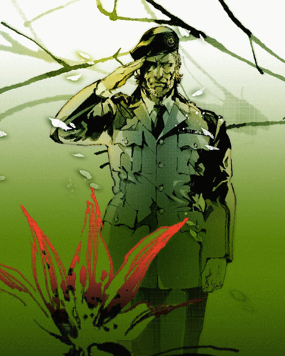 Metal Gear Solid 3 Clipart.