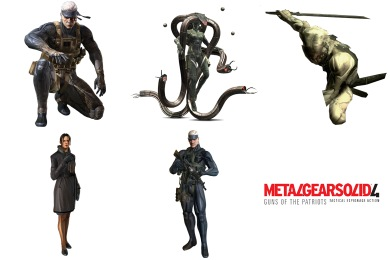 Free Icons: Iconset: Metal Gear Solid 4 Icons by Neokratos.