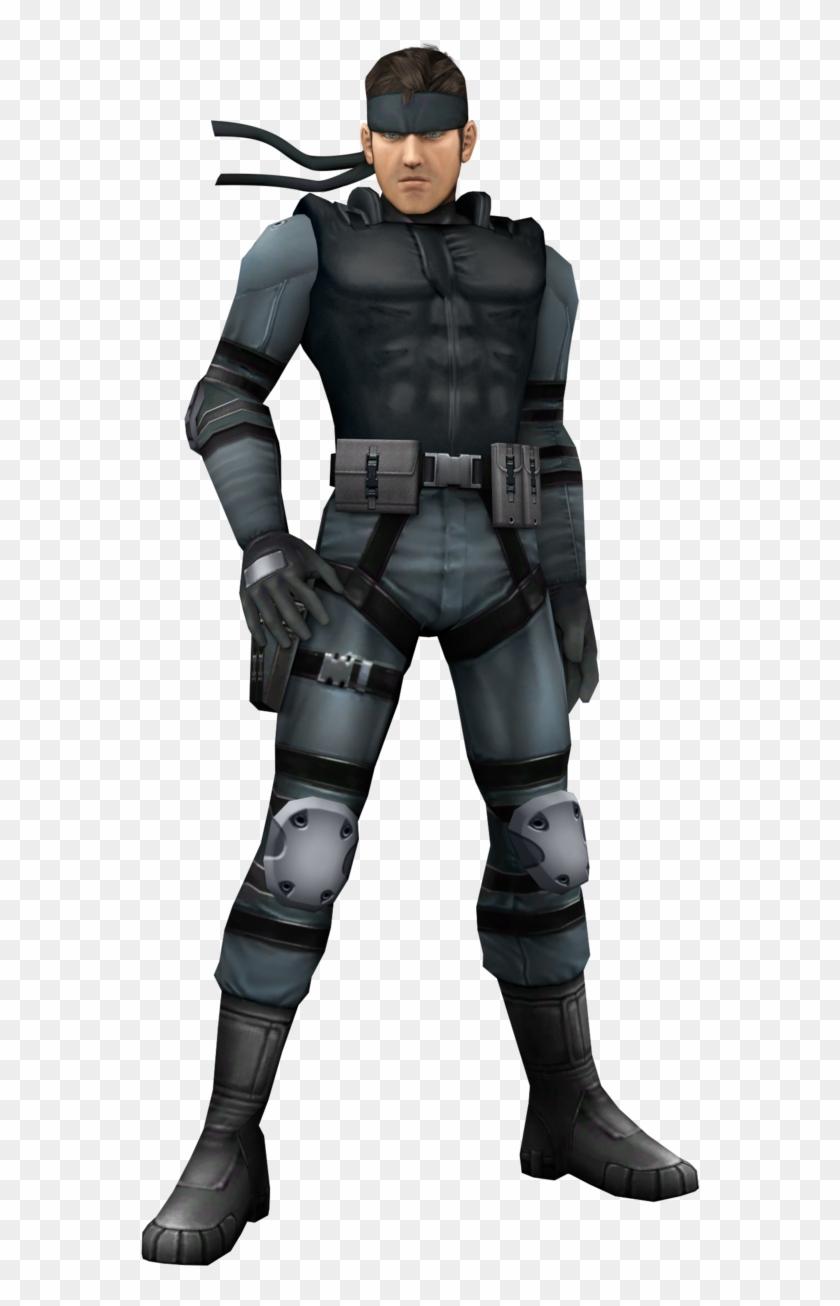 Metal Gear Solid Snake Png.