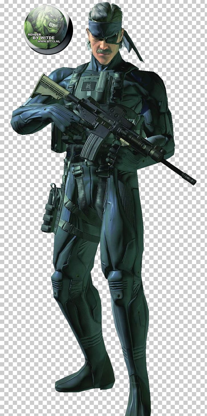 Hideo Kojima Metal Gear Solid 4: Guns Of The Patriots Metal.
