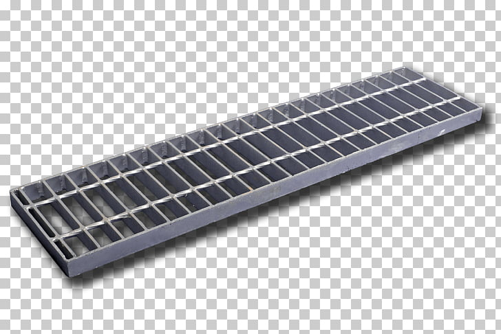 Steel Material Concrete Grating, walkway PNG clipart.