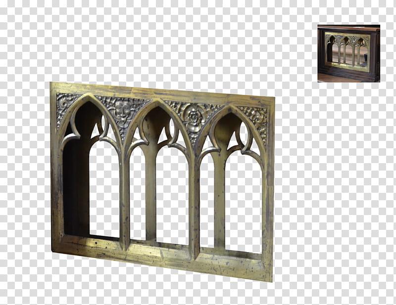 Decoration, gray metal frame transparent background PNG.