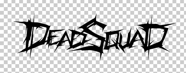Deadsquad Death Metal Logo Heavy Metal PNG, Clipart, Angle.