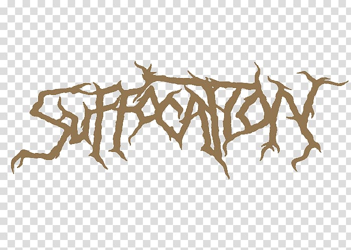 Brutal death metal Suffocation Heavy metal Logo, others.