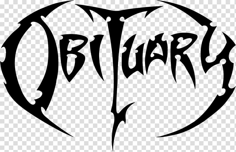 Obituary Death metal Logo Cause of Death Heavy metal, others.