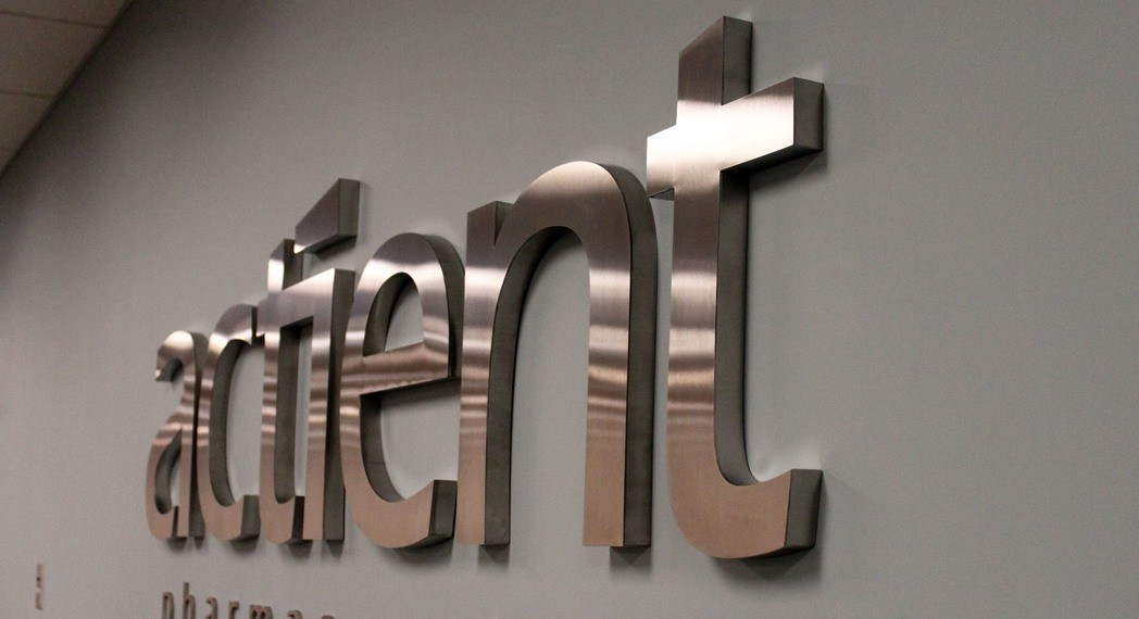 Stainless Steel Signs & Logos for Office Lobby.