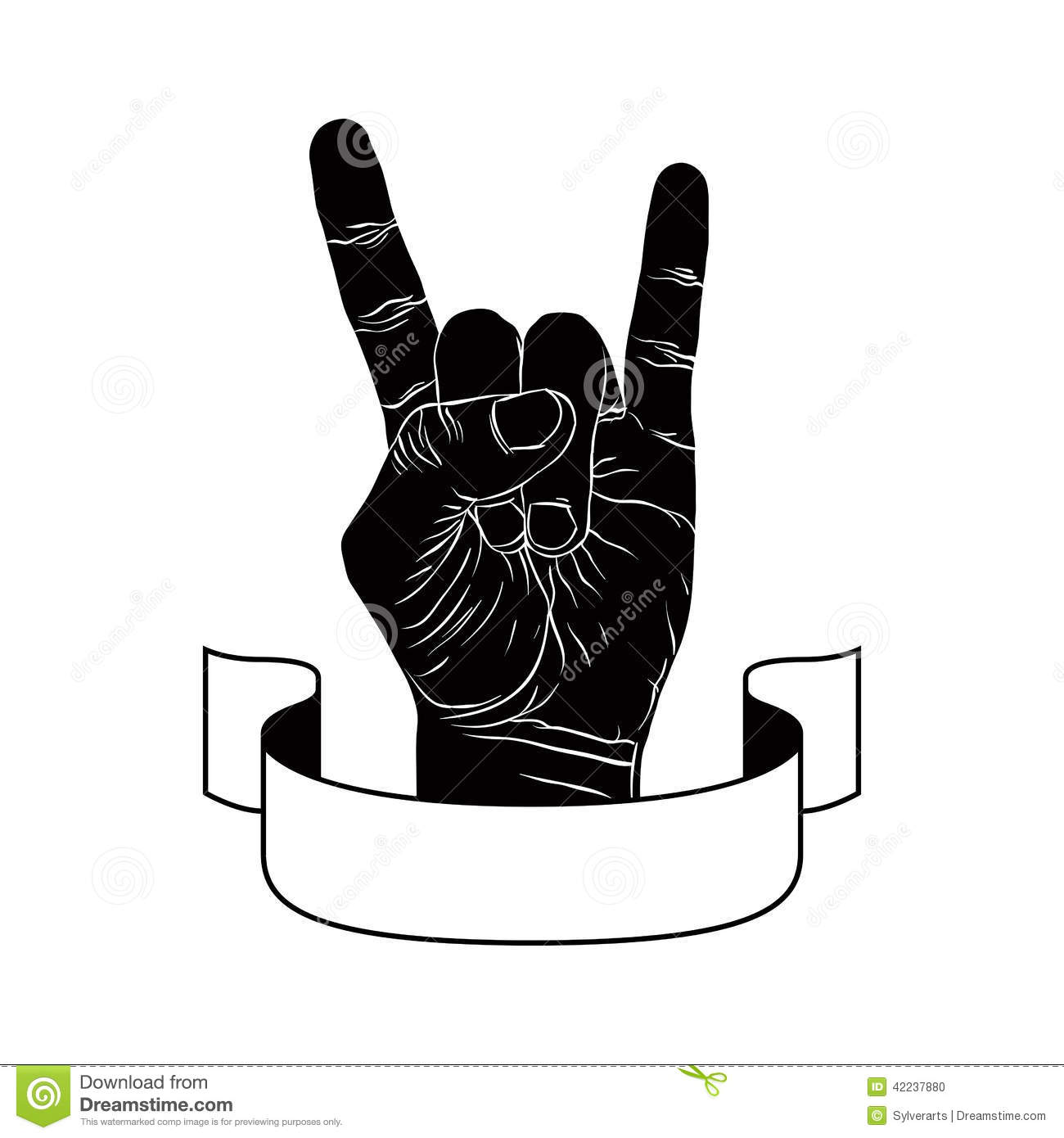 Rock On Hand Sign, Rock N Roll, Hard Rock, Heavy Metal, Music, D.
