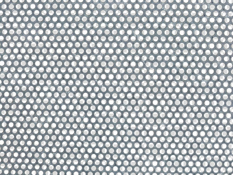 Gray metal machine part, Perforated metal Mesh Sheet metal.
