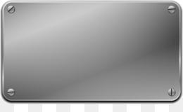 Steel Plate PNG.