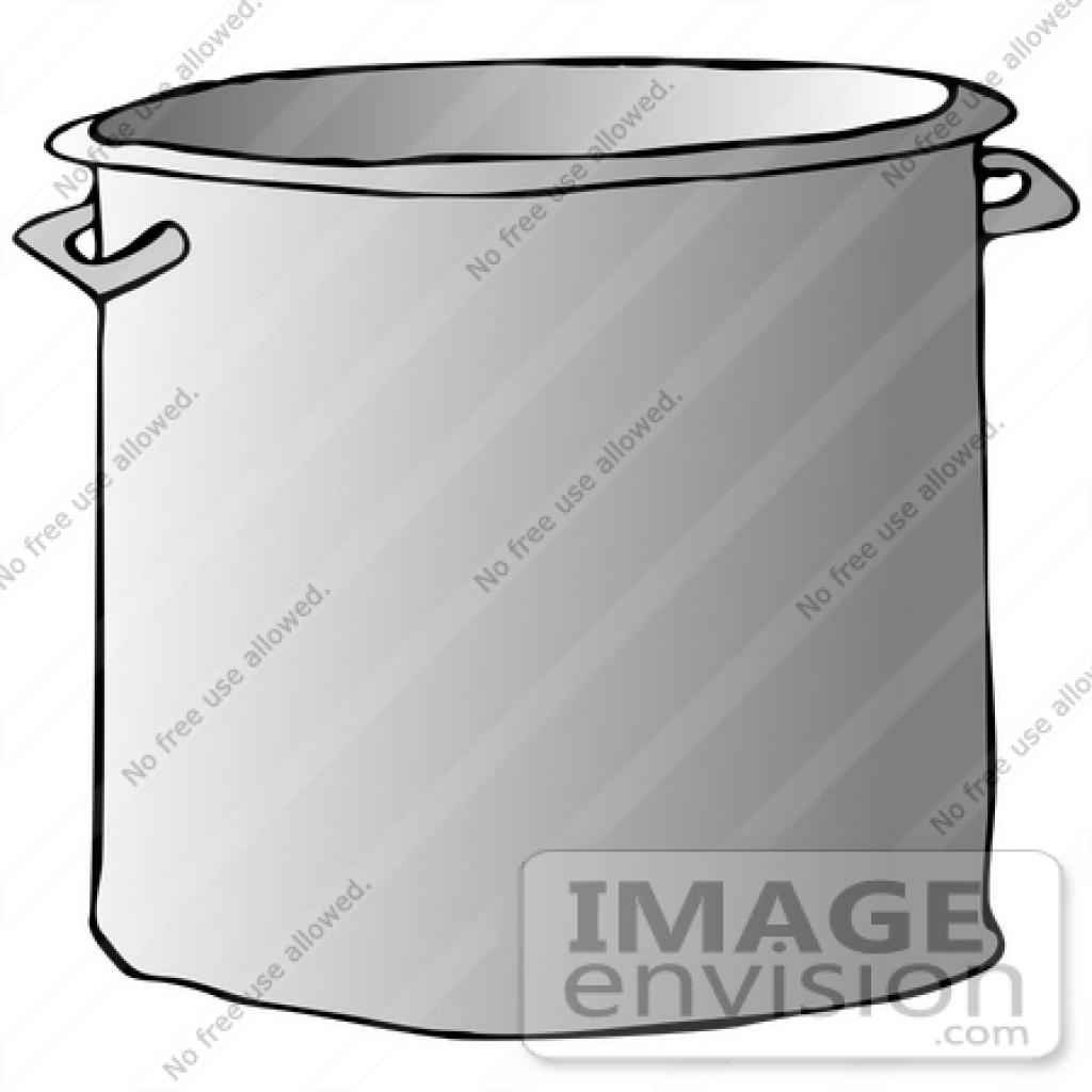 Metal Cooking Pot Clipart Metal Cooking Pot Clipart clip art.