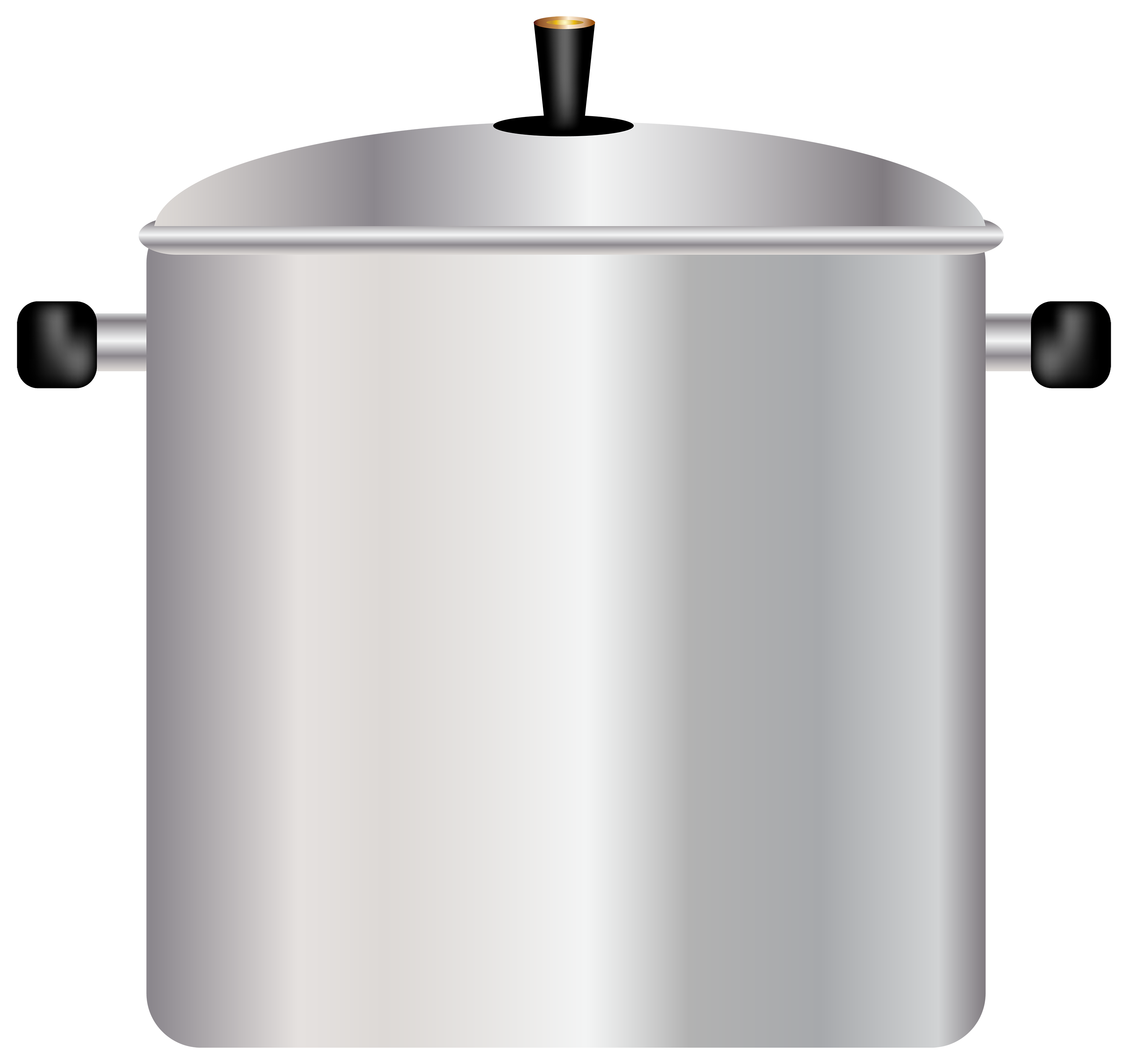 Large Cooking Pot PNG Clipart.