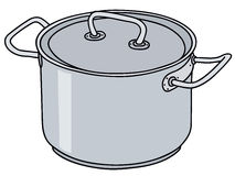 Metal pot clipart #19