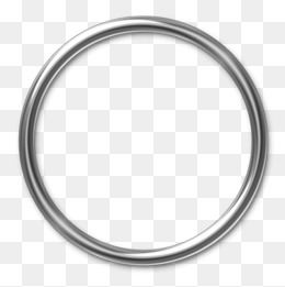 Steel Ring, Ring, Highlight, Silver Whit #2176.