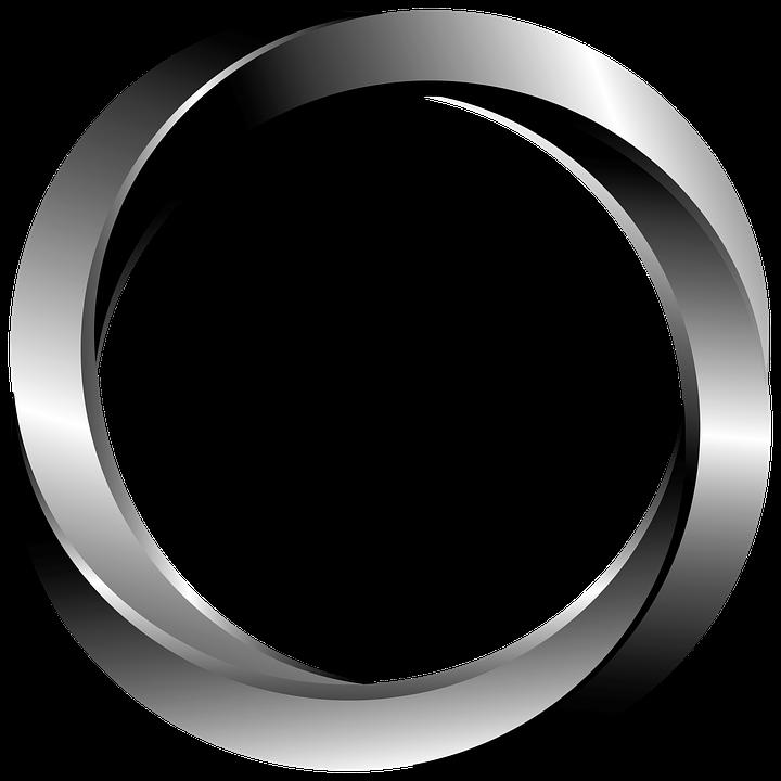 Metal Ring Graphic.