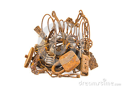 Scrap metal clipart.