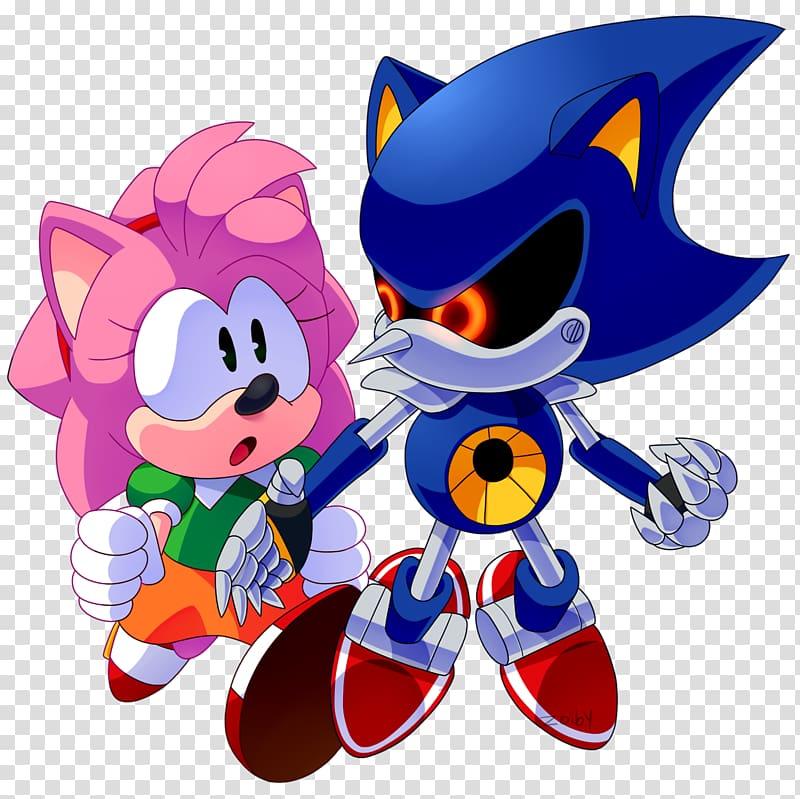 Sonic CD Amy Rose Metal Sonic Sonic the Hedgehog 3 Sonic.