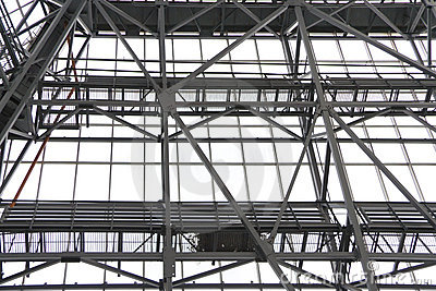 Steel Structure Royalty Free Stock Image.