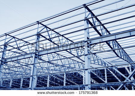 Steel Structure Stock Images, Royalty.