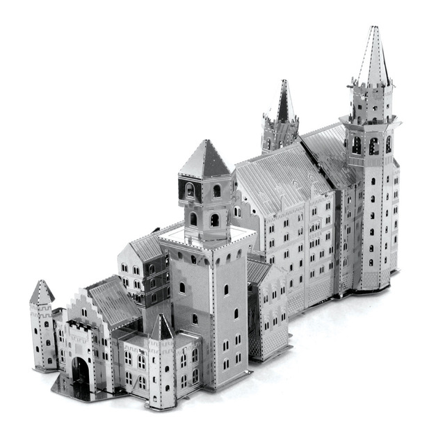 Aliexpress.com : Buy Neuschwanstein Castle 3D Metal Puzzle For.